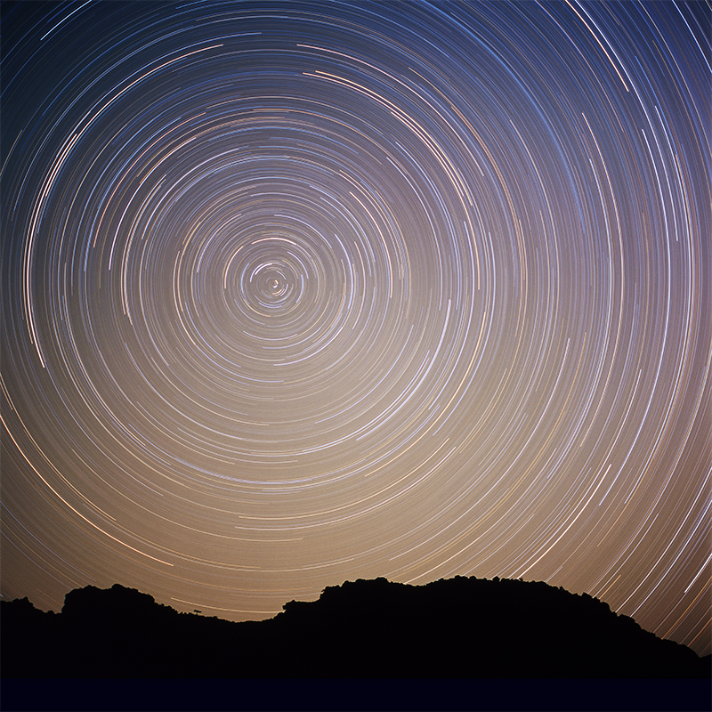 7 Startrails-Namibia